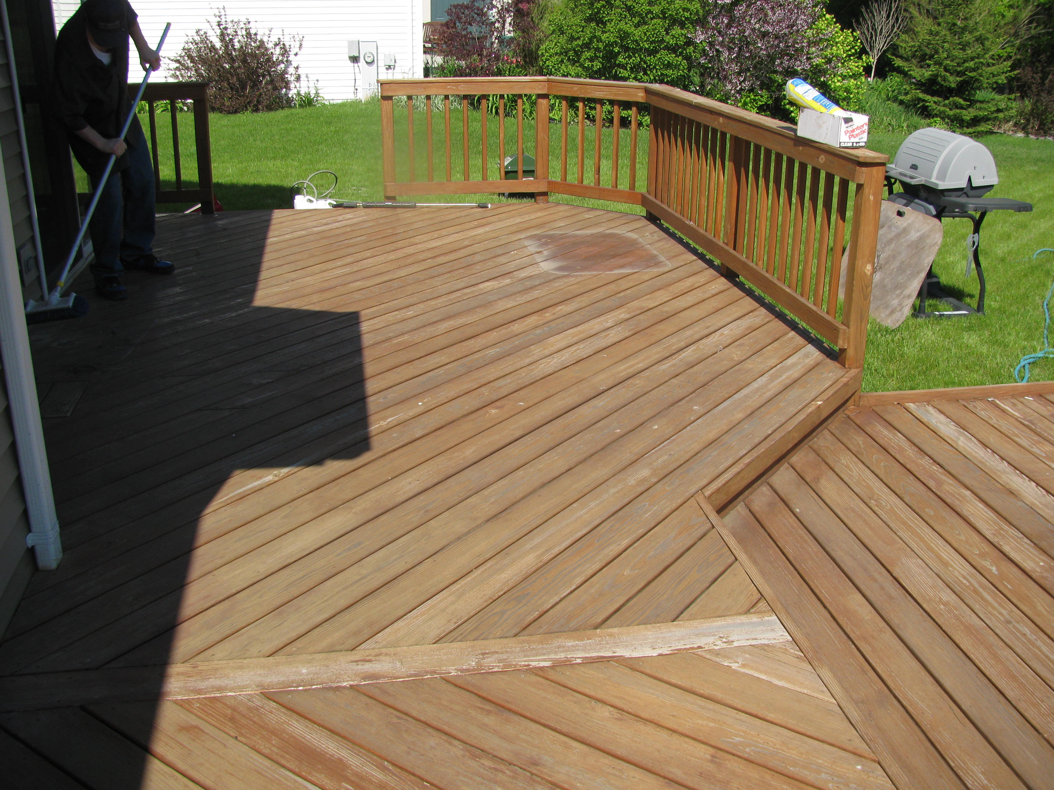 Deck Cleaning Deck Staining Deck Sealing Milwaukee