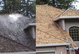 Cedar Roof Cleaning Milwaukee Wisconsin