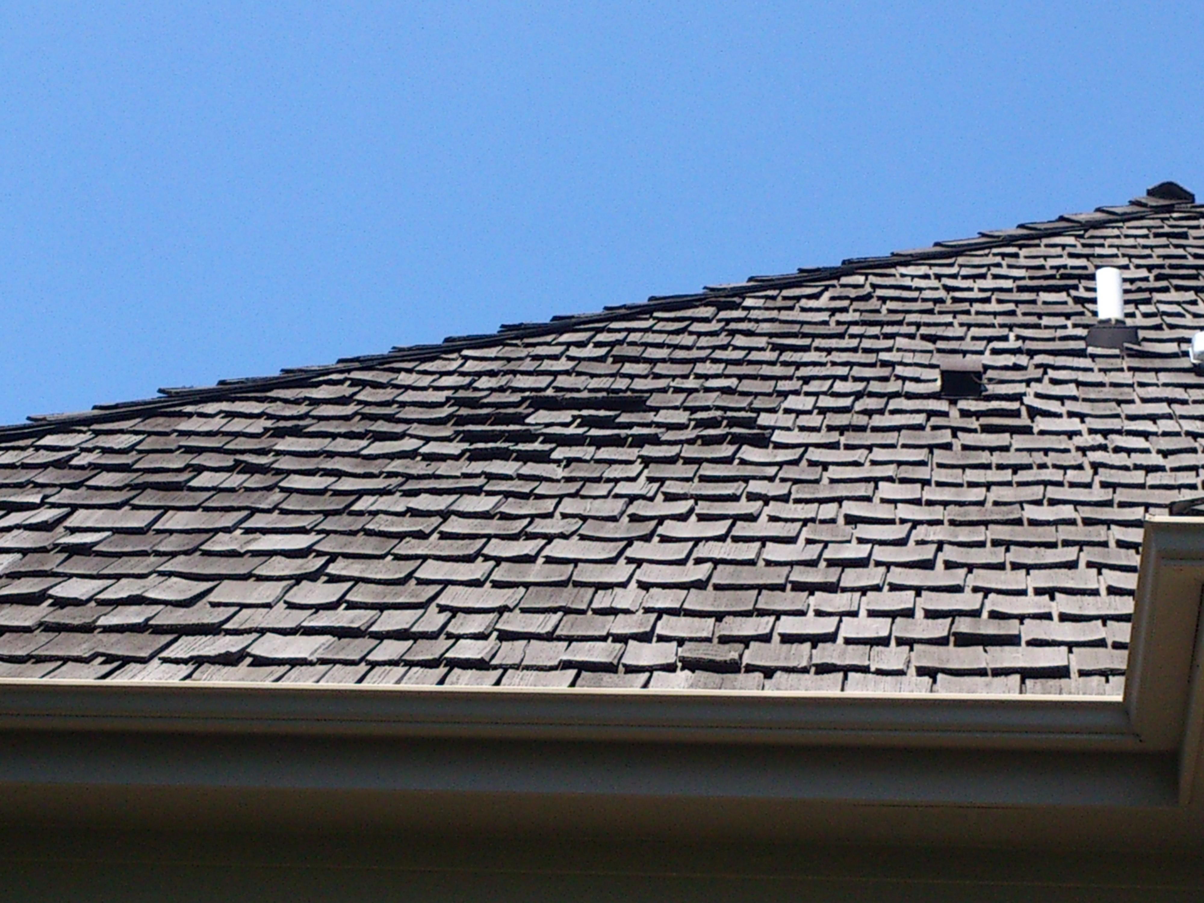 Curling Cedar Shingles | Cedar Roof Restoration | Cedar Shingles Maintenance