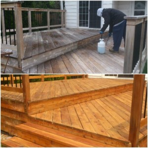 cedar deck cleaning madison