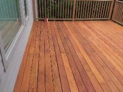 garbana wood restoation | Exoctic wood staining