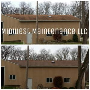 black roof stain removal madison wisconsin