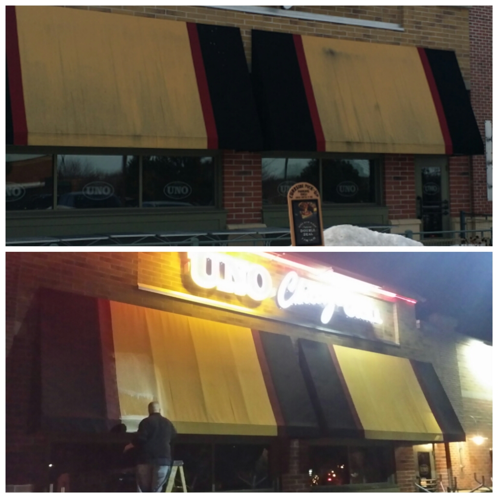 Awning Cleaning Milwaukee