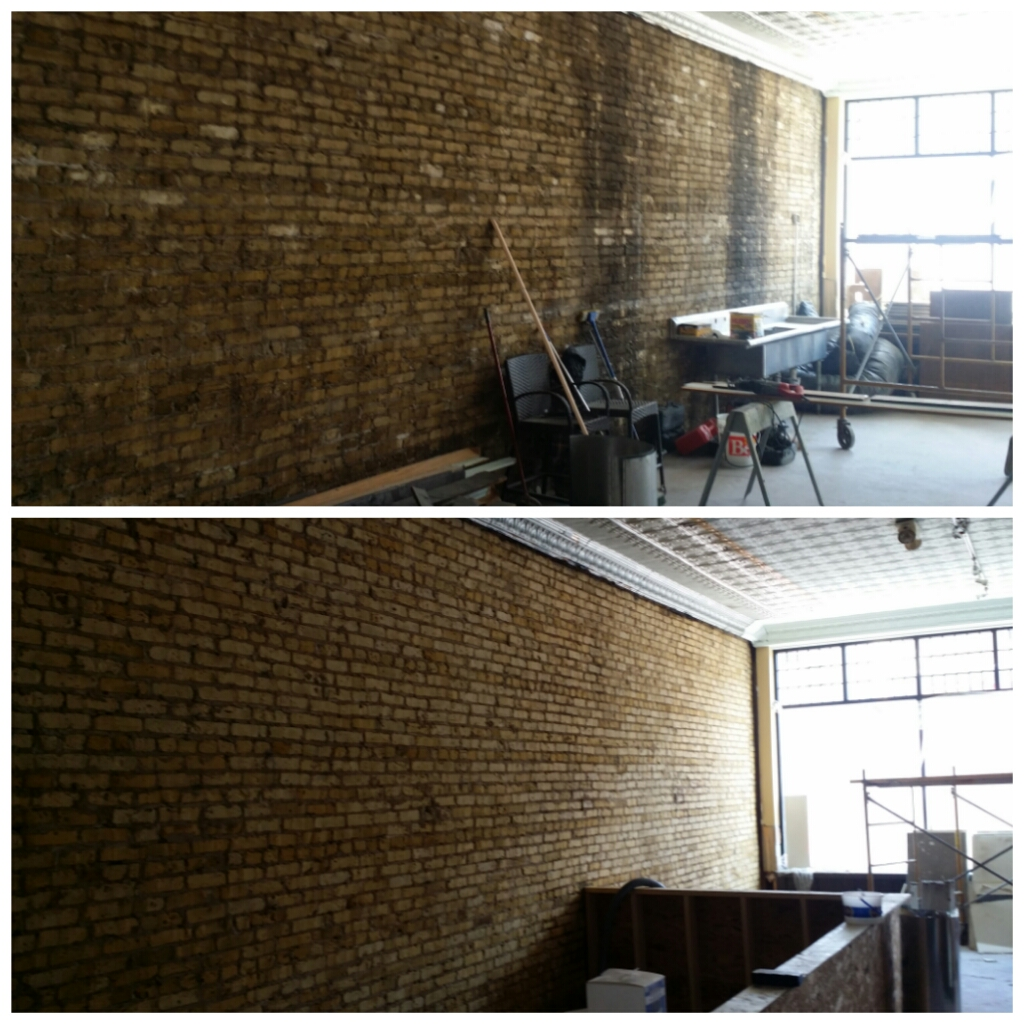 brick cleaning Milwaukee