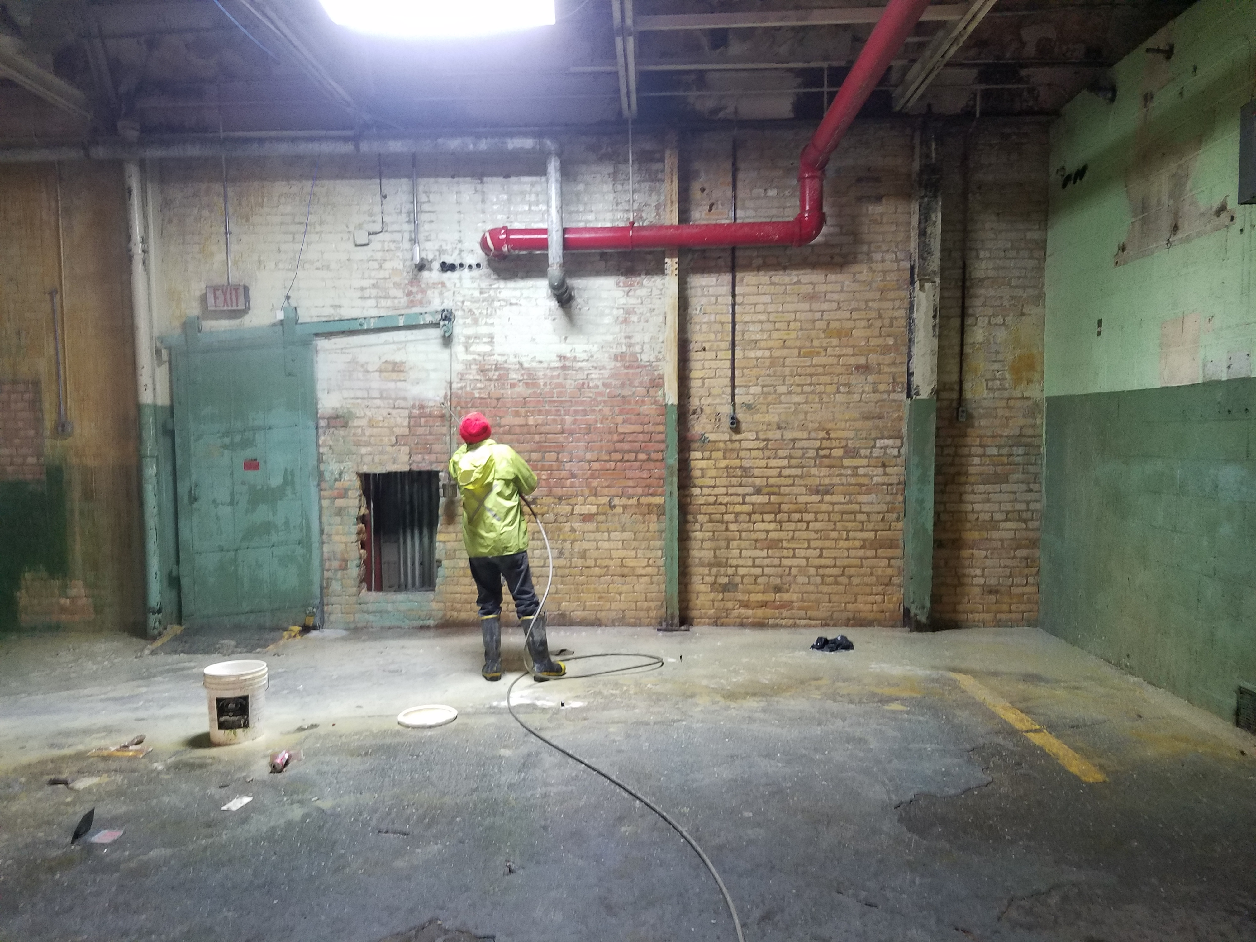 Paint Removal From Masonry In Milwaukee